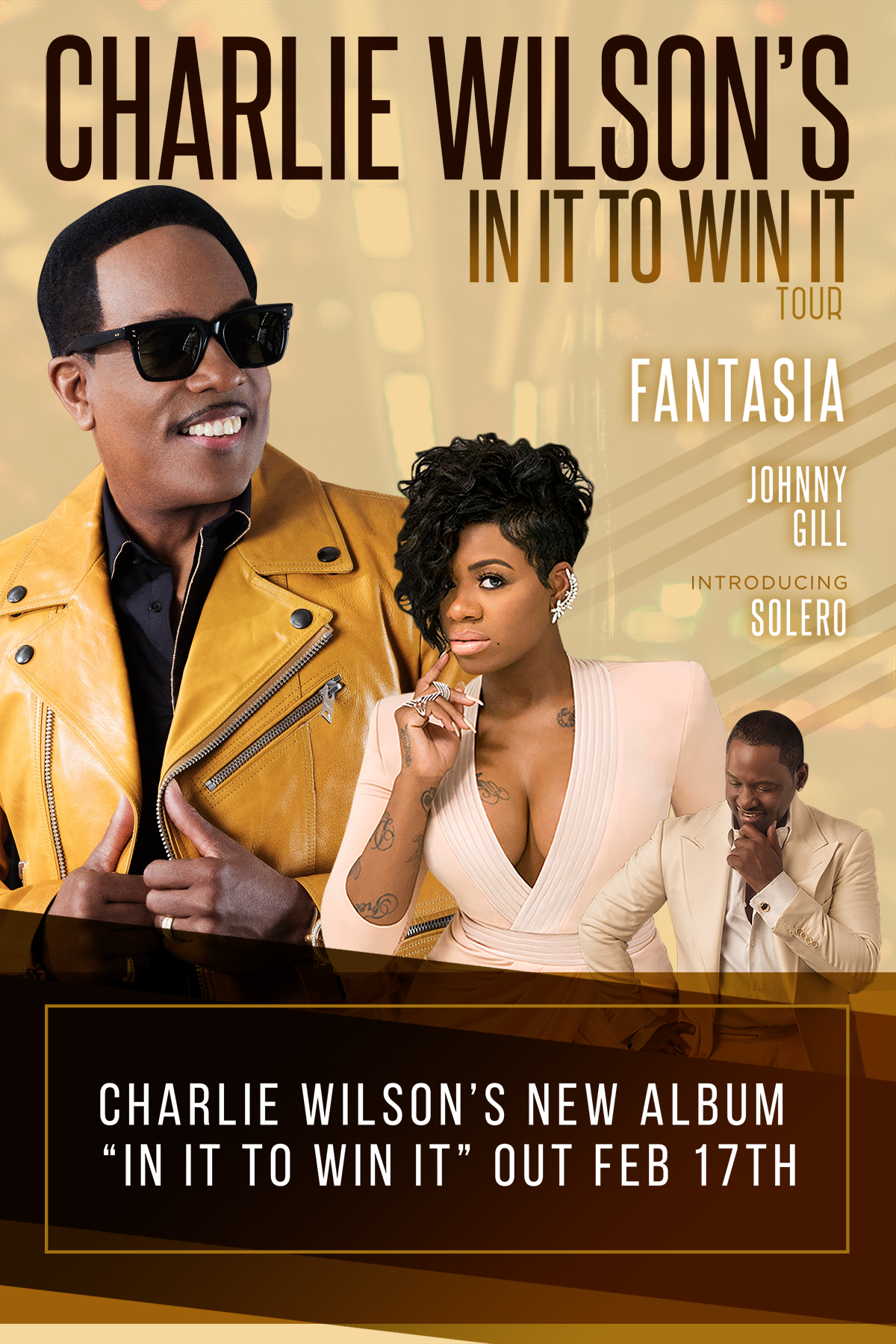 Rb Icon Charlie Wilson Announces The Release Of His New Album In It